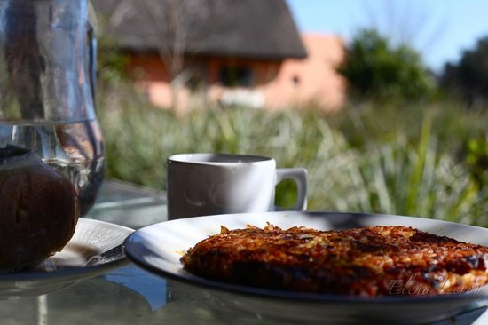 El Galope Farm & Hostel : Lunch - Monica's food is the BEST!!