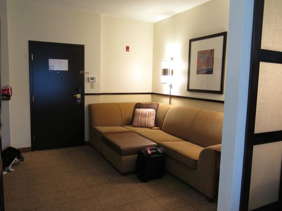 Hyatt Place Columbus Dublin: Room with sofabed