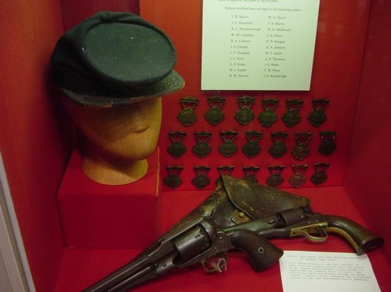 New Market Battlefield Military Museum : display