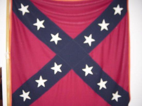 New Market Battlefield Military Museum: battle flag