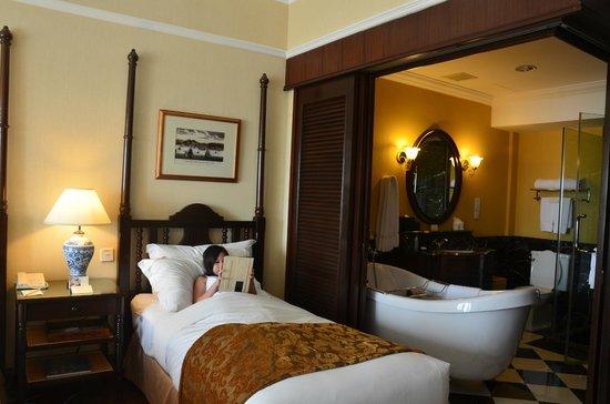 The Majestic Malacca: Kamar Tidur nyaman