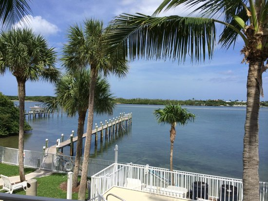 Jupiter Waterfront Inn: looking out my back door