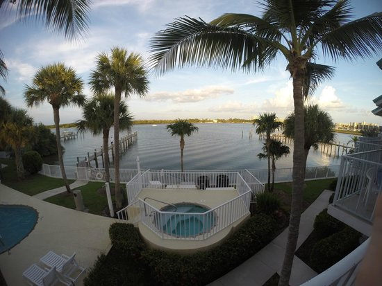 Jupiter Waterfront Inn: just perfect view