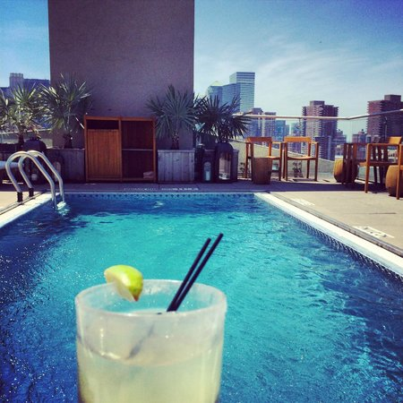 The James New York: Rooftop Pool
