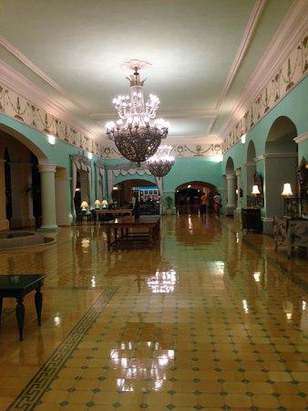 Iberostar Hacienda Dominicus : Hall y zona wifi