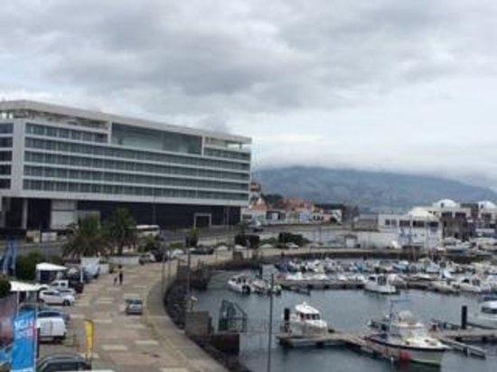 Hotel Marina Atlantico : view from my balcony