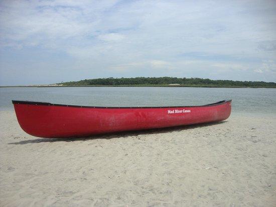 Kayak Amelia: A Canoe :)