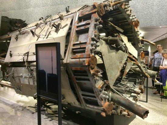 Mémorial du 11-Septembre : Antena do World Trade Center