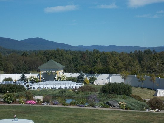 Mountain View Grand Resort & Spa: outside wedding location
