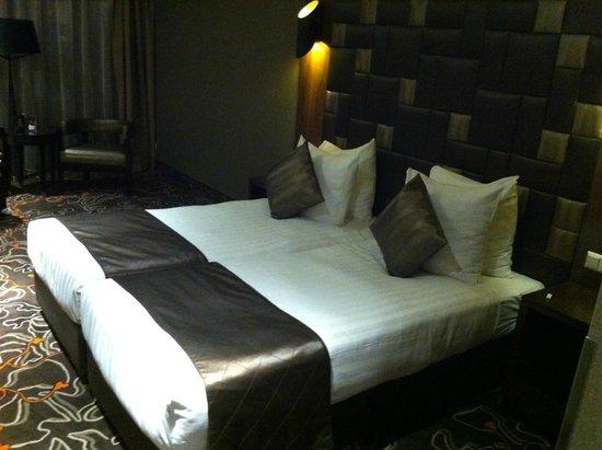 XO Hotels Park West: Cama extremamente confortável
