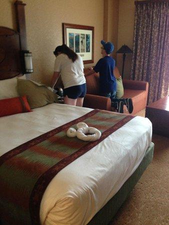Boulder Ridge Villas at Disney's Wilderness Lodge : room 4542