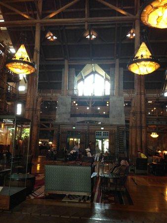 Boulder Ridge Villas at Disney's Wilderness Lodge: lobby
