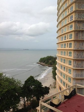 Copthorne Orchid Hotel Penang: balcony view