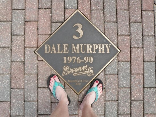 Turner Field: My favorite player!