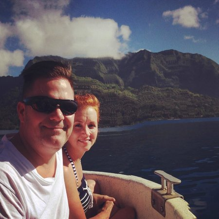 Hilton Moorea Lagoon Resort & Spa : Dr. Ian Poole's Dolphin & Whale watching