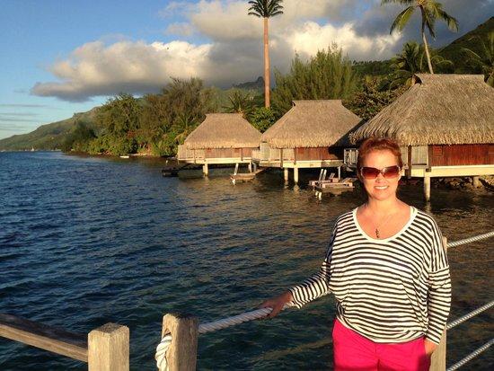Hilton Moorea Lagoon Resort & Spa: beach bungalows