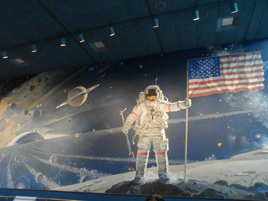 Museo Nacional del Aire y el Espacio: conquista espacial