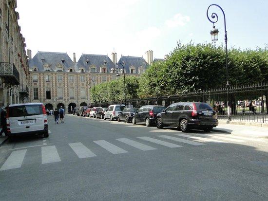 Place des Vosges : arquitetura
