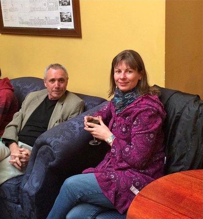 Carringtonians at weekly Drinks