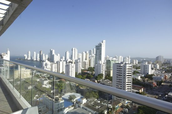 Hampton by Hilton Cartagena: From the observatory