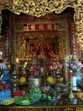 Chua Tran Quoc: внутреннее убранство