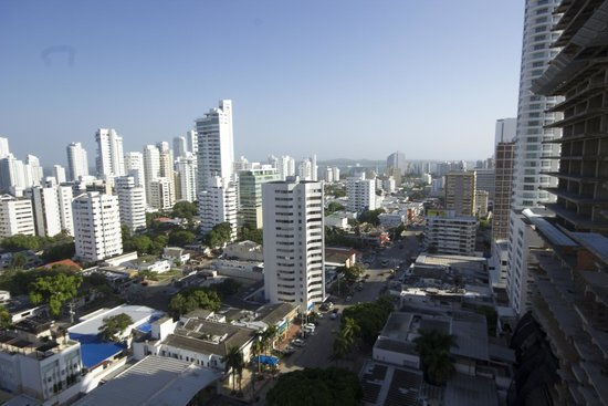 Hampton by Hilton Cartagena: View from observatory