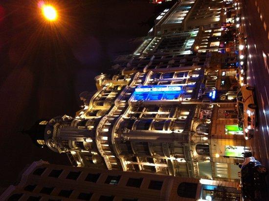 Tryp Madrid Plaza Espana Hotel : Vista da Gran Via