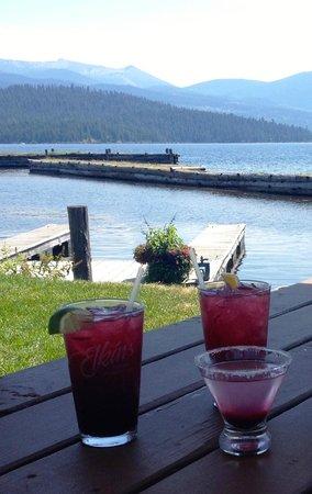 Elkins Resort Restaurant: Huckleberry cocktails at Elkins resort
