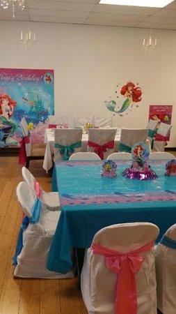 Miss Gloria's Tea House: Camila's 4th Under the Sea Birthday Party