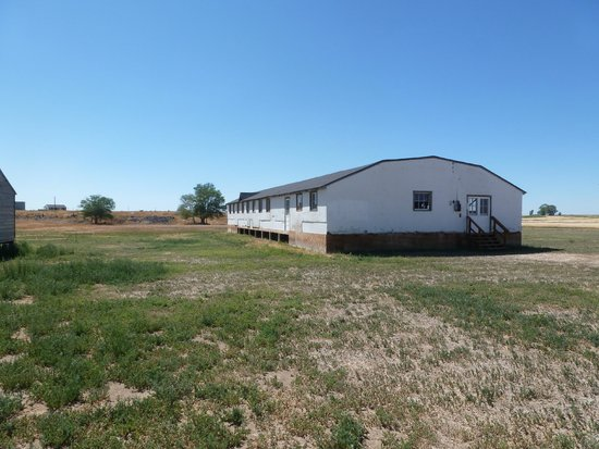 Minidoka Internment National Monument: one of the buildings they have there