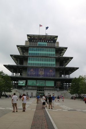 Indianapolis Motor Speedway Museum: Pagoda