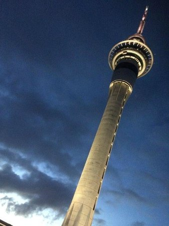 SKYCITY Grand Hotel: View of tower from room