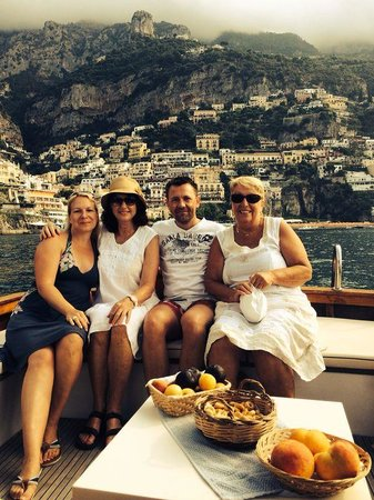 Blue Star Boat Tours: Tolle Gruppe an Board