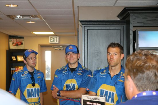 Indianapolis Motor Speedway Museum: Chase Elliott's Crew Chief and Crew