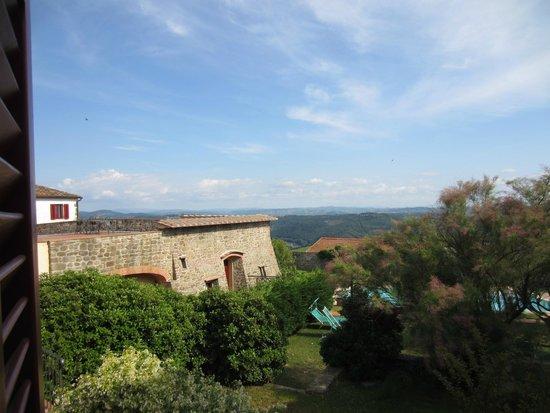 Hotel Paggeria Medicea: Views of Tuscany