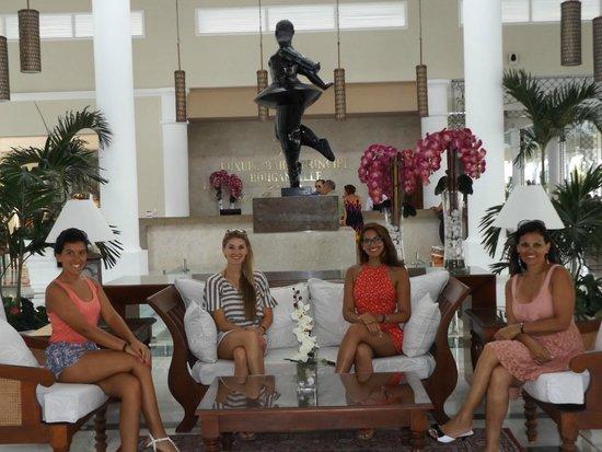 Luxury Bahia Principe Bouganville Don Pablo Collection : Gorgeous lobby