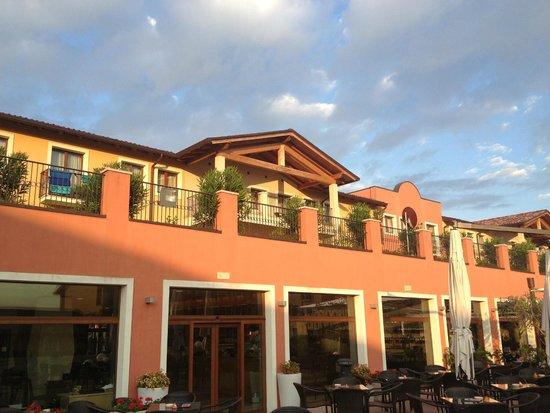 Hotel Parchi del Garda : Patio interno