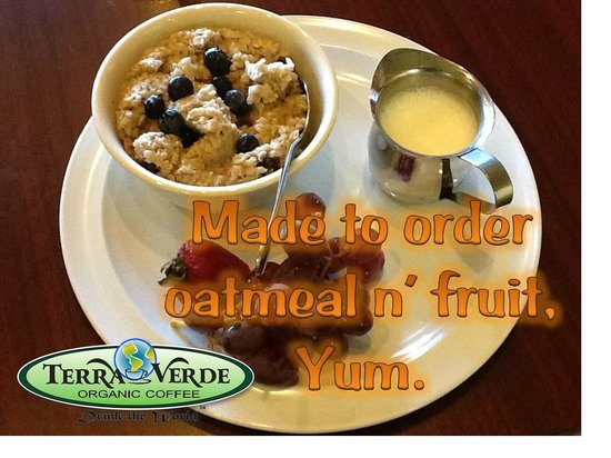 Terra Verde Coffee : Breakfast is real!!!