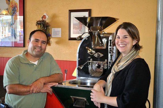 Terra Verde Coffee : Marko and Melissa Sosa master roasters and baristas