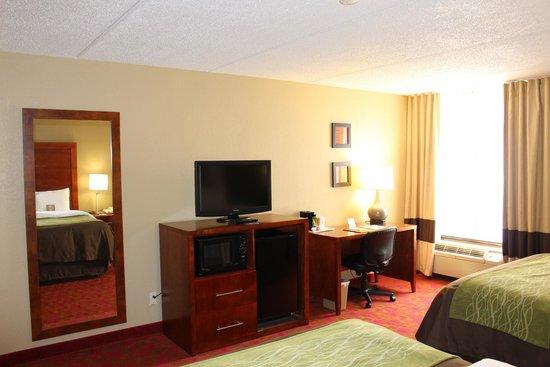Comfort Inn Matthews-Charlotte: 2 Queen Bed Room