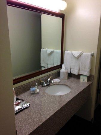 Le Ritz Hotel & Suites: Separate vanity
