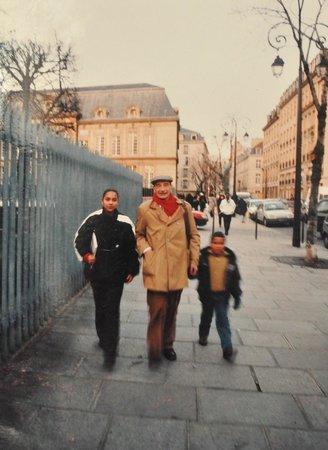 La Maison Europeenne de la Photographie: Edouard Boubat with Marie Julie and Frédérick
