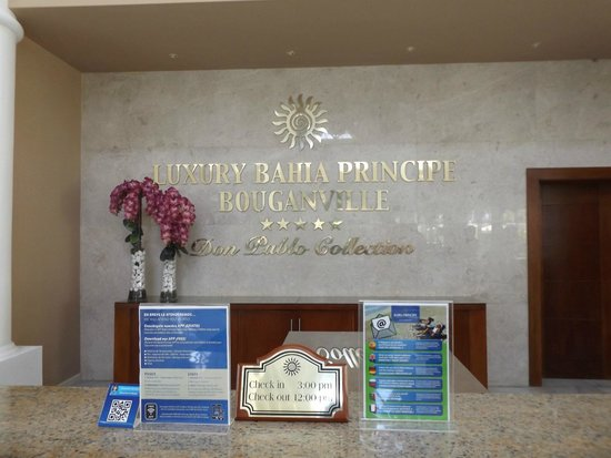 Luxury Bahia Principe Bouganville Don Pablo Collection : Welcome Lobby
