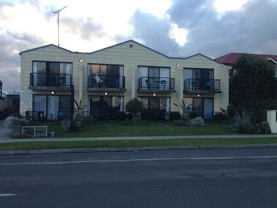 Apollo Bay Waterfront Motor Inn: View from the Great Ocean Road