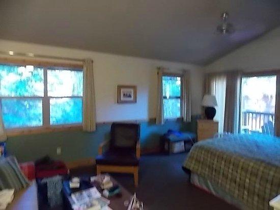 Evergreen Lodge at Yosemite: Cabin C2 interior