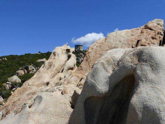 Tour Genoise : tour vue de la plage