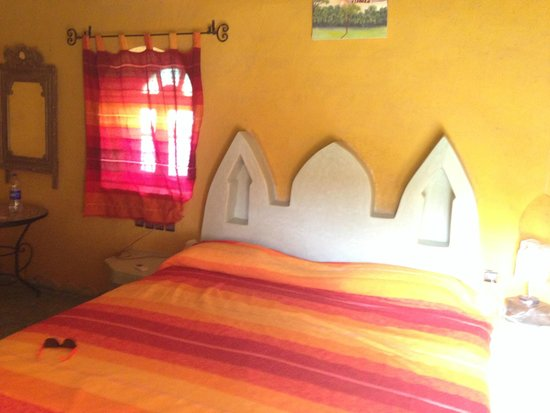 Hotel Ksar Merzouga : la stanza