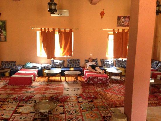Hotel Ksar Merzouga : sala pranzo