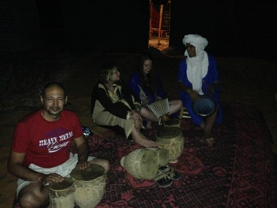 Hotel Ksar Merzouga : notte in tenda