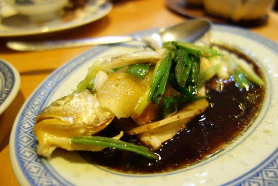 Restaurant Grillhaus Hong Kong: gedämpfter Fisch